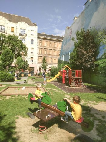 Budapest playground